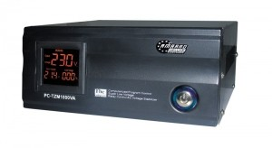 Σταθεροποιητής Τάσης Τύπου RELAY PC-TZM-1000VA