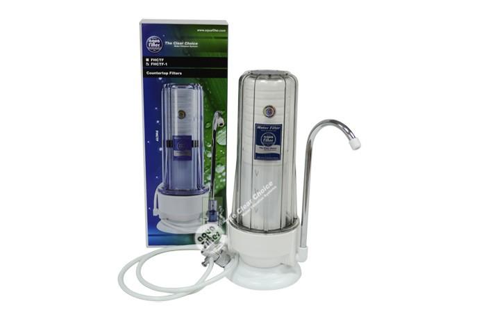 Φίλτρο νερού 2 σταδίων άνω πάγκου Aqua Filter