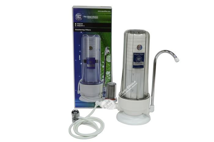 Φίλτρο νερού 3 σταδίων άνω πάγκου Aqua Filter