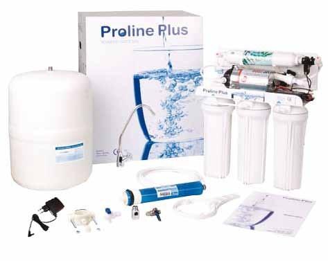Αντίστροφη όσμωση 5 σταδίων PROLINE PLUS με αντλία