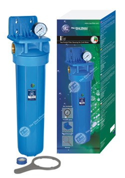 """Σώμα φίλτρου νερού Big Blue 20""""- 1"""" Aqua Filter"""