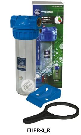 """Σώμα φίλτρου νερού 10""""- 1/2"""" 3 μερών Aqua Filter"""